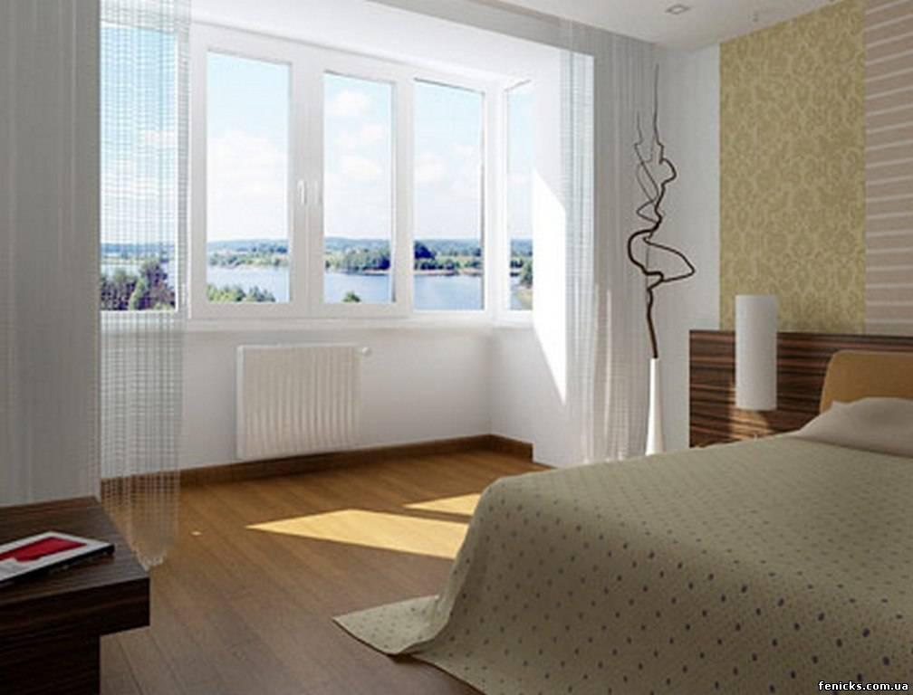 Соединение балкона с комнатой отделка оконного проема..